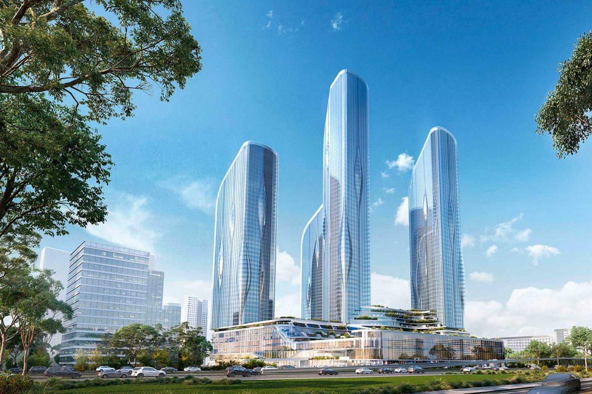 ЖК по проекту бюро Zaha Hadid Architects в Хорошёво-Мнёвниках
