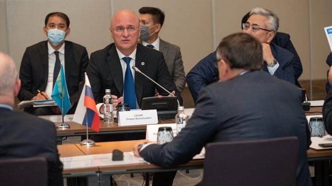 Марат Хуснуллин посетил с рабочим визитом Республику Казахстан. Заместитель Премьер-министра Республики Казахстан Роман Скляр