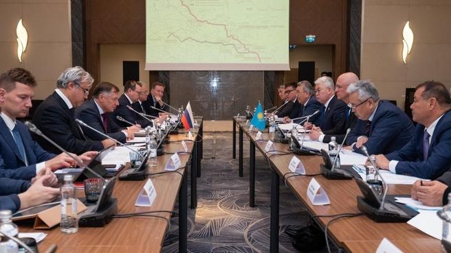 Марат Хуснуллин посетил с рабочим визитом Республику Казахстан