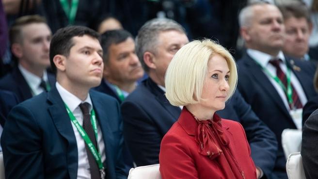 Виктория Абрамченко приняла участие в открытии российской агропромышленной выставки «Золотая осень – 2021»