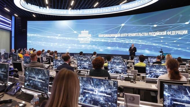 Встреча Михаила Мишустина с российскими финалистами Международного студенческого чемпионата мира по программированию (ICPC)